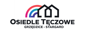 Osiedle Tęczowe Grzędzice Stargard Logo